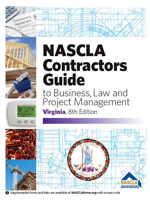 va class a contractor license (business) course without pre-license