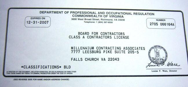 VA MD Building RBC CBC Contractors Contract VA